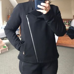 Athleta black Moto jacket